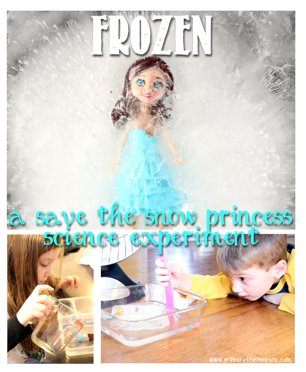 Frozen: A Save the Snow Princess Science Experiment