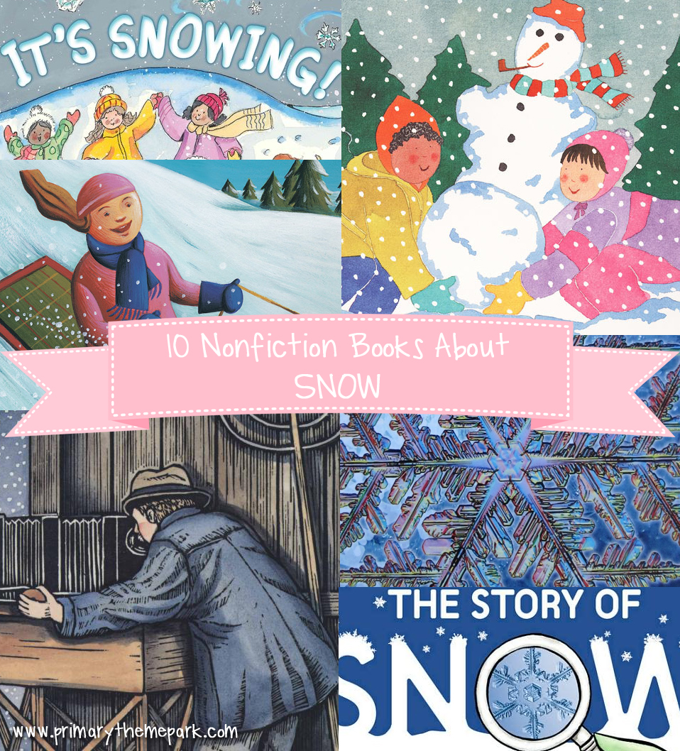 Nonfiction Children's Books About Snow