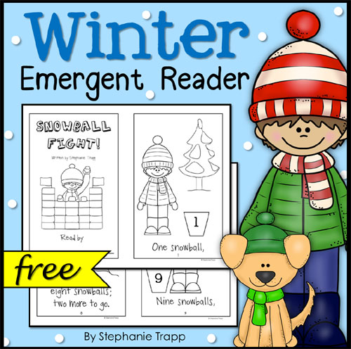 Free Winter Emergent Reader