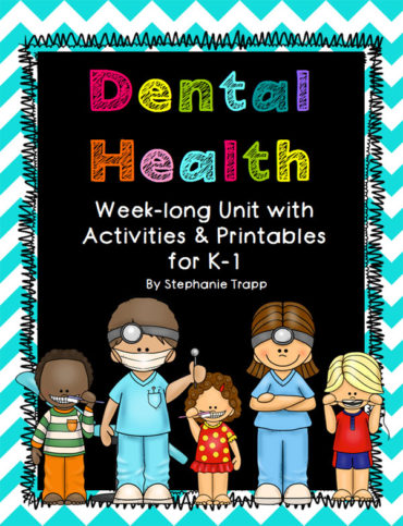 A week-long dental health unit for kindergarten and first grade. Detailed lesson plans include book suggestions, literacy and math activities, art, and more!