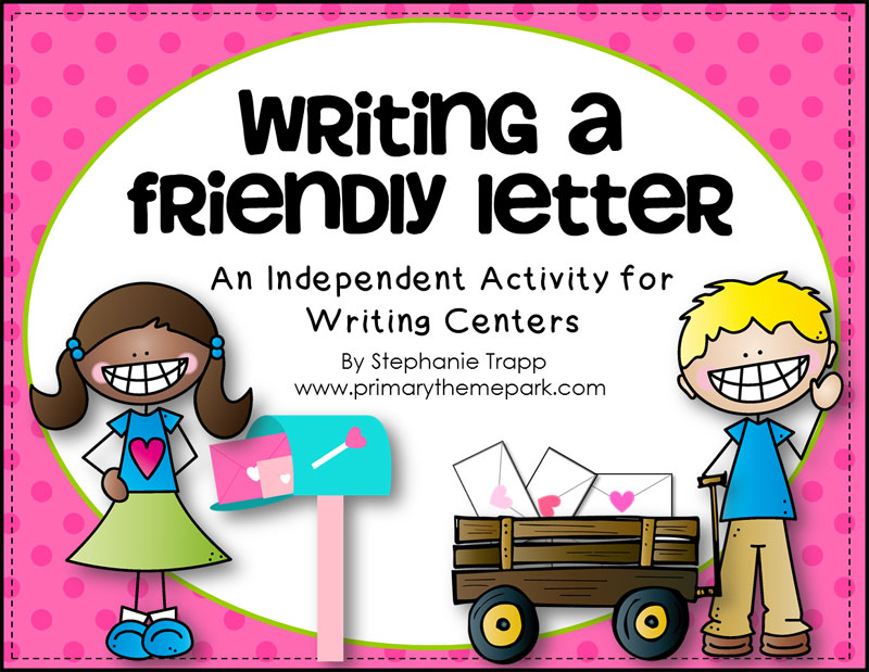 How to write a friendly letter free printables primary theme park how to write a friendly letter free printables maxwellsz