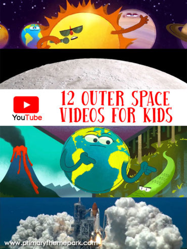 A collection of solar system videos for kids on YouTube