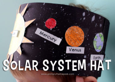 How to make a solar system hat for kids