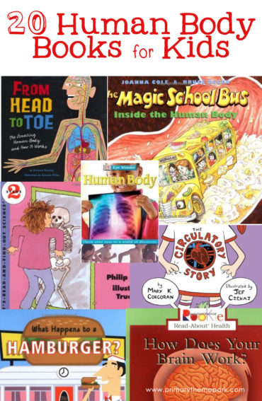 A list of human body books for kids