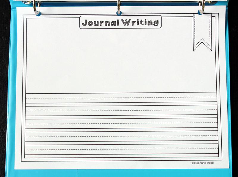 Free Calendar Notebook Binder Printables