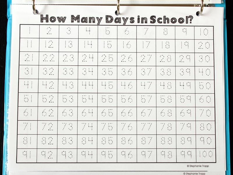 Calendar Math Binders Kindergarten : Calendar notebook binder printables primary theme park