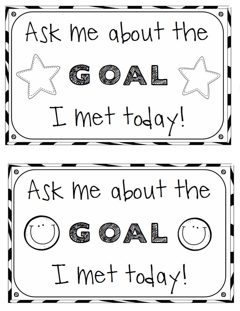 Student Academic Goal Setting Sheets Primary Theme Park – Goal Setting Worksheet for Students