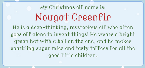 Christmas Elf Names.Elf Writing Prompts And Ideas Primary Theme Park