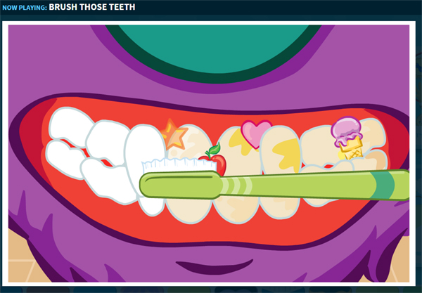 online dental health games for kids