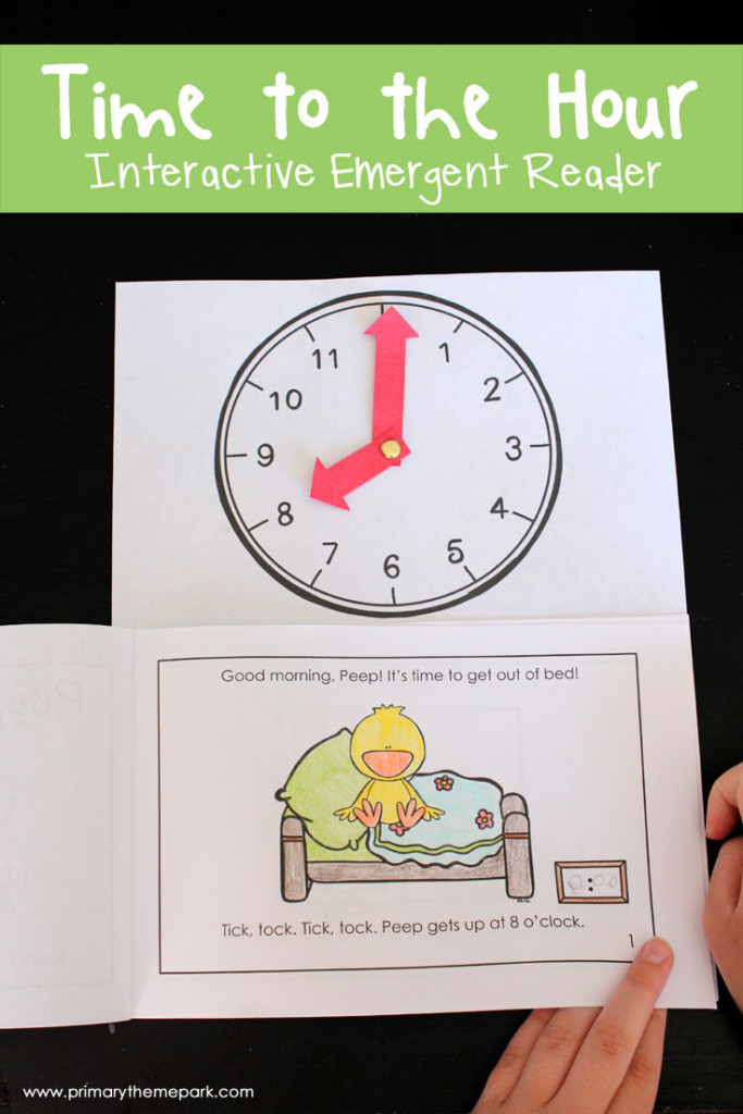 telling time activities | time to the hour first grade | telling time to the hour