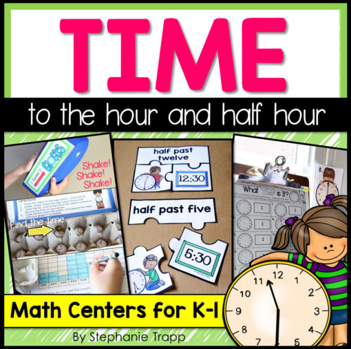 telling time to the hour | telling time activities | time to the hour first grade