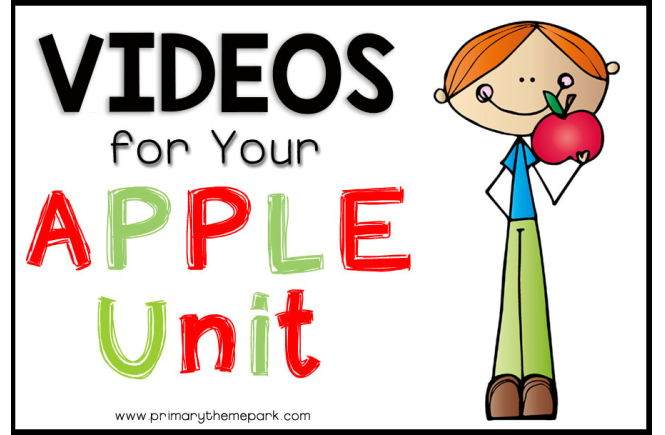 Apple Videos for Kids | Apple Unit Ideas | Apple Activities for Kids
