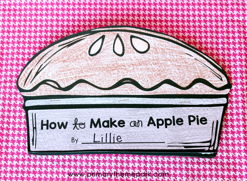 FREE Apple Writing Activity