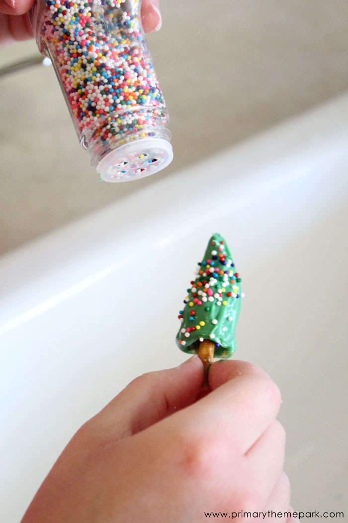 Mini Christmas Tree Treats