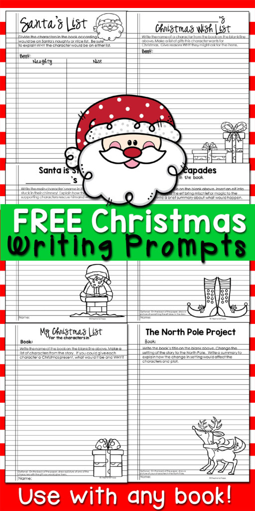 christmas writing activities for 3rd grade