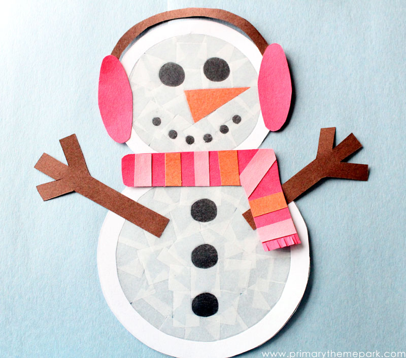 Snowman Craft for Kids