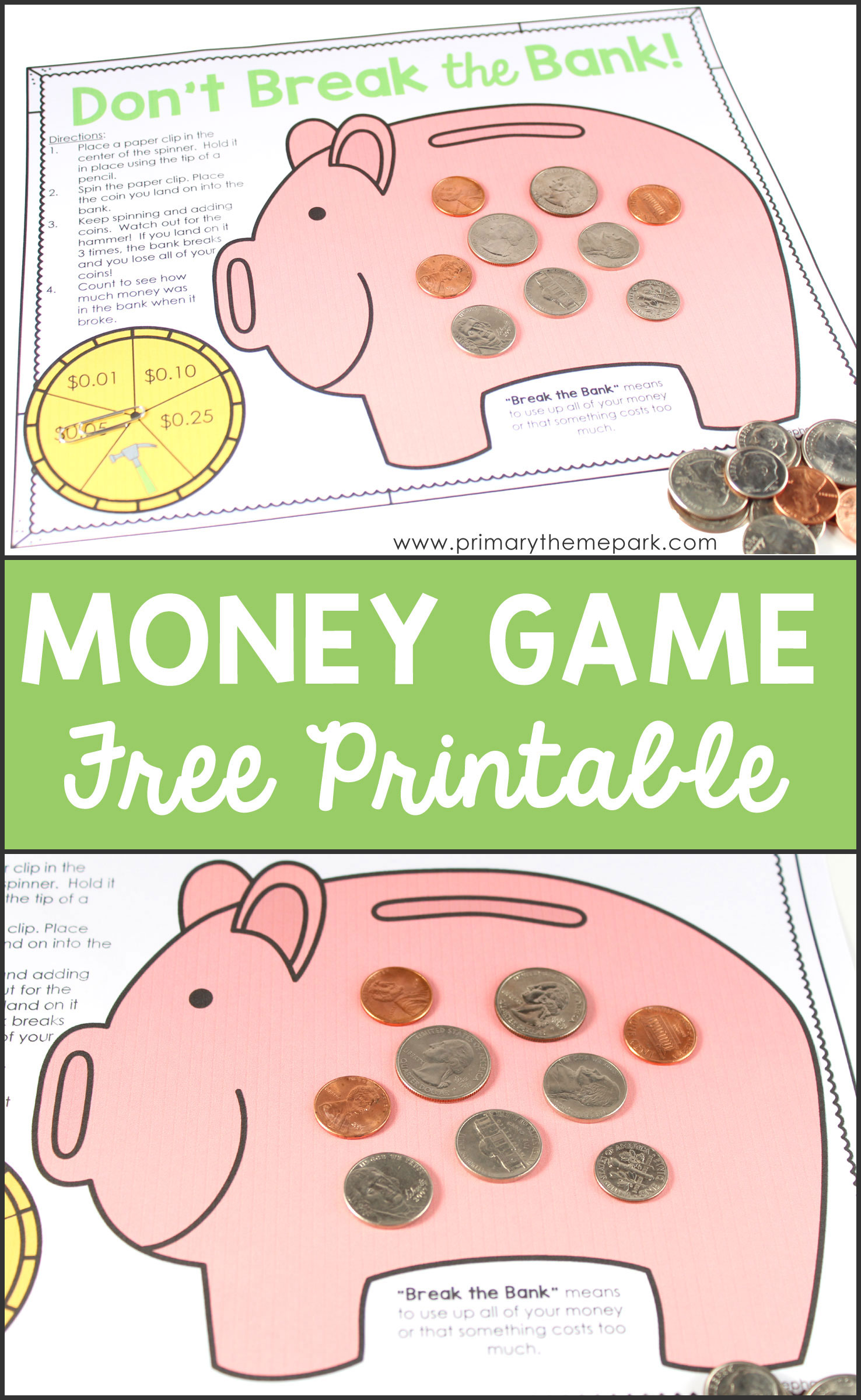 Money Activities for Second Grade