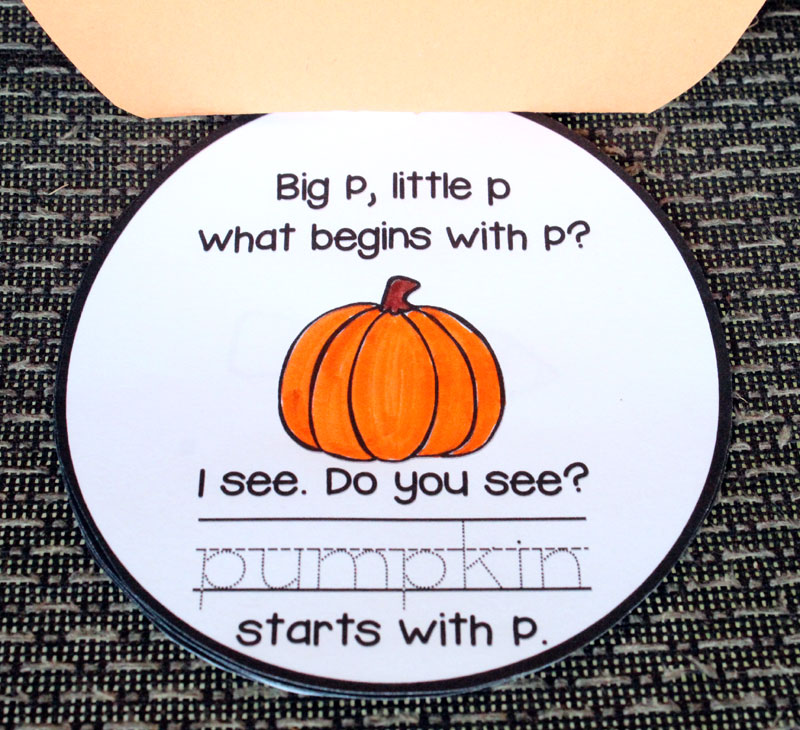 Pumpkin Literacy Activities