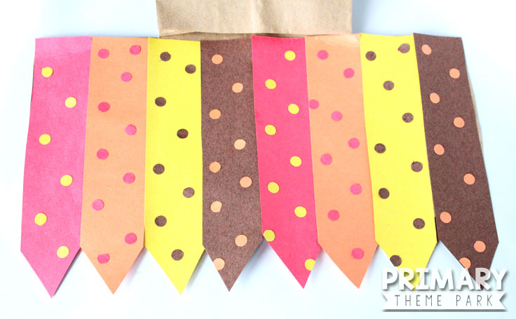Kids will love making this stuffed paper bag turkey craft for Thanksgiving!