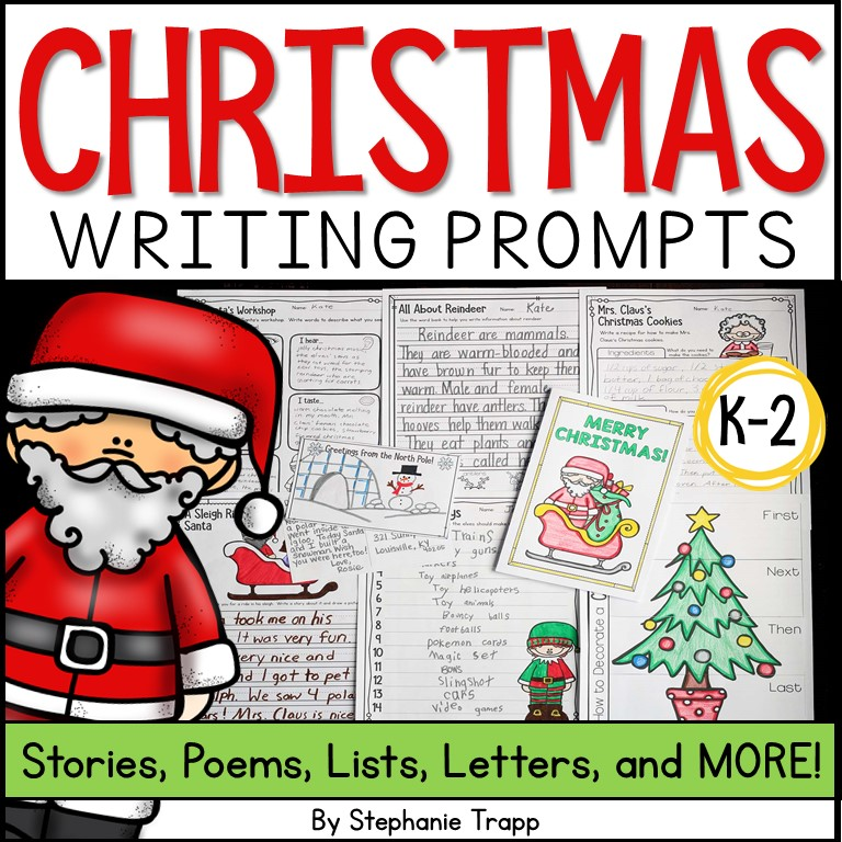 christmas writing prompts for kids christmaswriting christmasactivityforkids christmaslearning