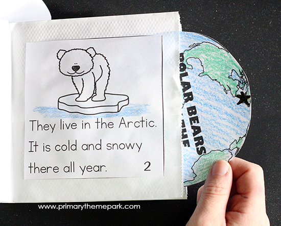 Polar Bear Craft | Polar Bear Art | Polar Bear Activities