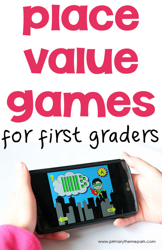 Place Value Games 1st Grade