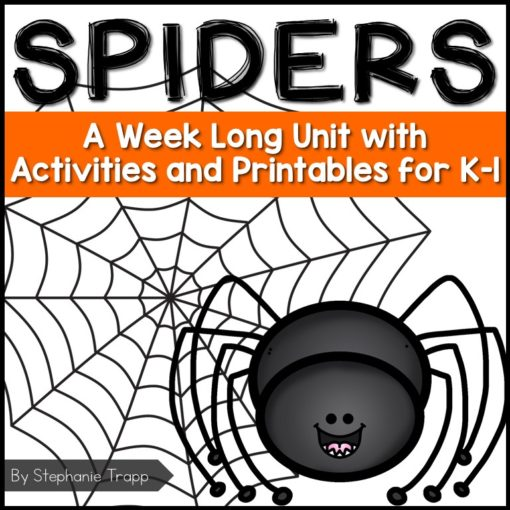 Spider Unit for Kindergarten and First Grade | Spider Unit 1st Grade