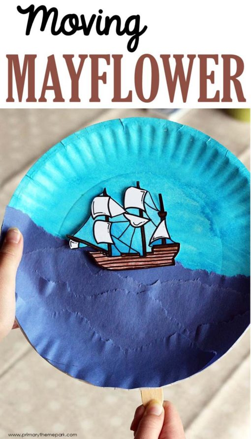 Mayflower Craft for Kids with Printable Template