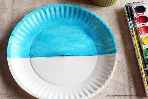 Moving Mayflower Craft for Kids #firstthanksgiving #thanksgivingcrafts