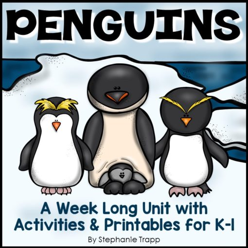 Penguins Unit for Kindergarten and First Grade