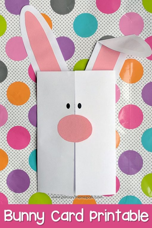 Easter Writing Activity: Easter Bunny Card Printable