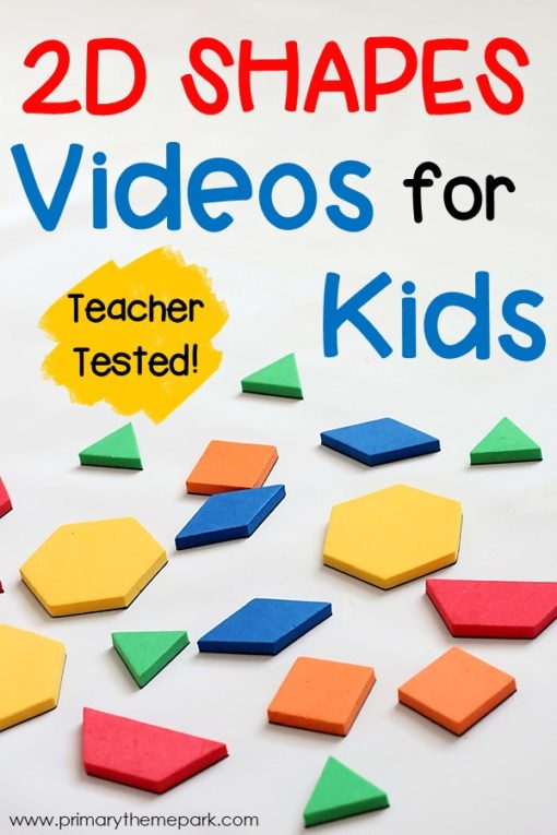 2D Shape Videos for Kindergarten