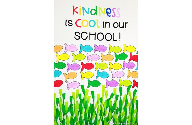 Kindness Bulletin Board Idea