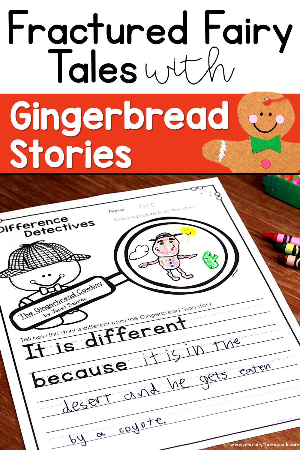 Fractured Fairy Tales with Gingerbread Stories