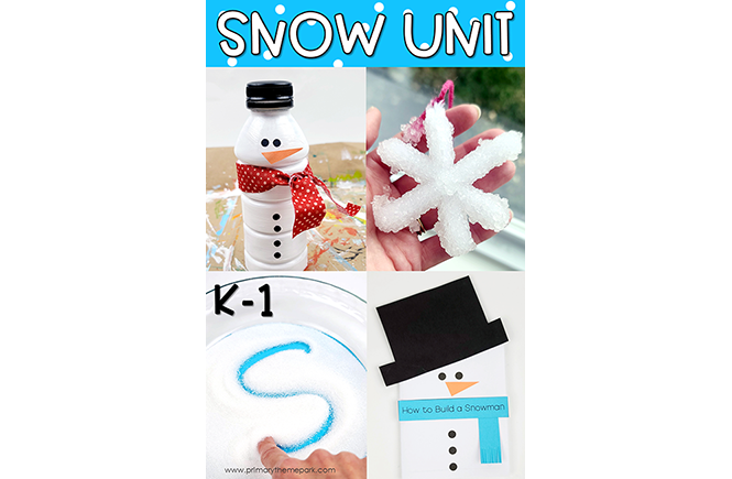 Snow Unit for Kindergarten and First Grade